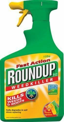Roundup Weedkiller Spray Ready to Use Fast Action Weed Control 1L Spray Bottle